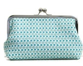 CLUTCH PURSE Blue Print Bridesmaid Clutch