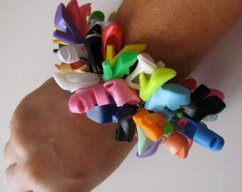 Barbie  Shoe Bracelet Doll Shoe Jewelry Binns Blythe FREE SHIPPING Multicolor