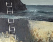 Ladder No. 2 -Original on Paper-