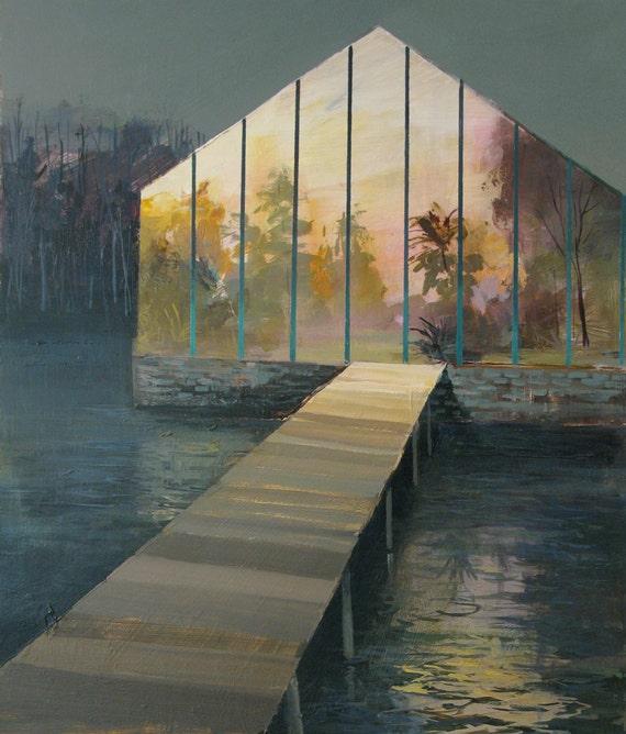 Conservatory-Original Painting-