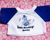 Sock Monkeys Rock Mini T-Shirt