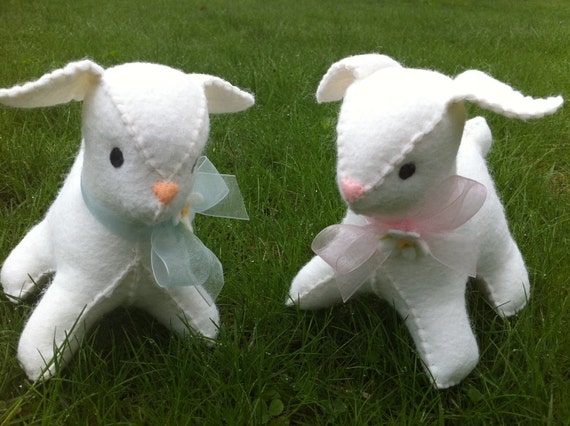 Custom Listing for Philine Baby Lamb Plush Toy with Rattle or Music Button