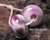 Lavender Garden...Lampwork Beads