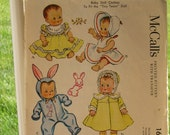 Vintage McCalls 1657 Doll Clothes Pattern