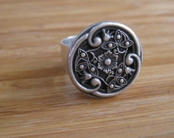 Amore Dulce Sterling Silver Ring