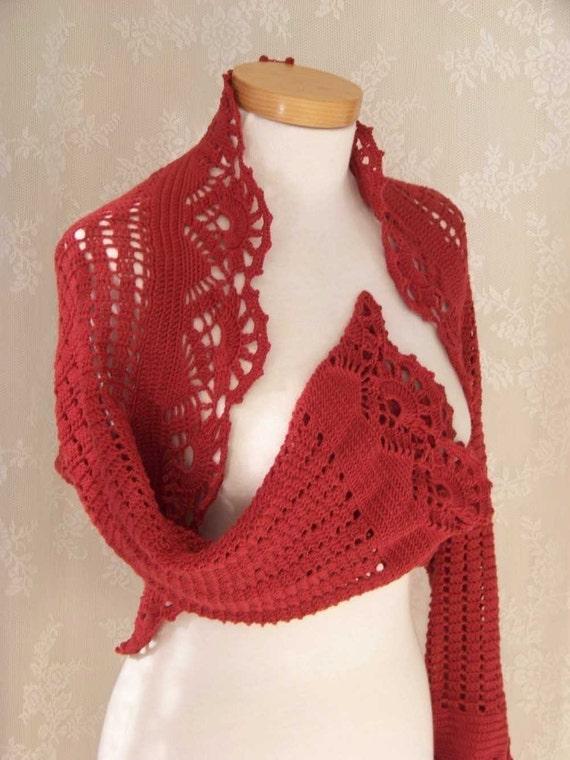 FIORENZA, Crochet shrug pattern, PDF