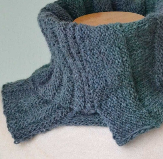 ALEX, Knitting cowl pattern, PDF