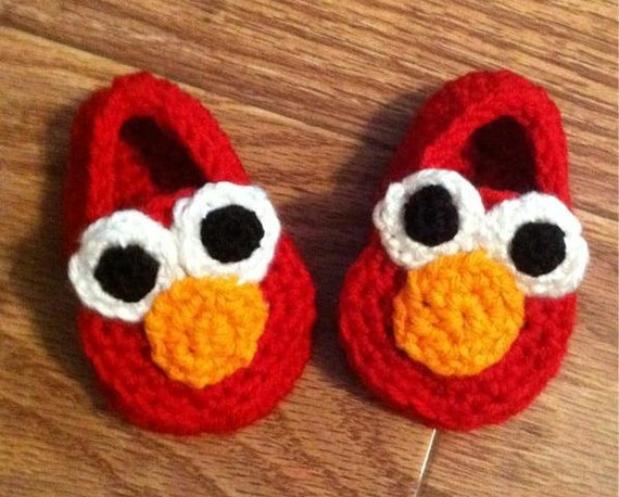 Elmo Booties