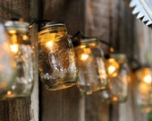 Mason Jar Light Strand - Full Pint