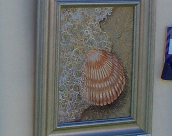 Ocean, Sea, Shore, Shell Series 3 Original Paintings