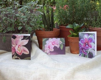 Orchid Note Card Collection 100% Donated to Red Cross Disaster Relief