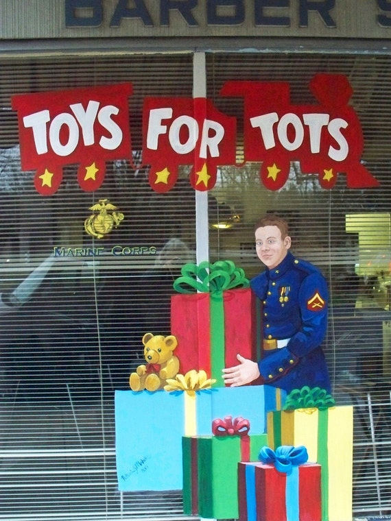 Christmas Cards 100% to Toys for Tots