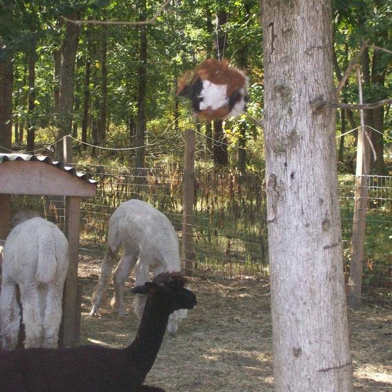 Nesting Balls for birds - Alpaca Fiber Nesting Balls