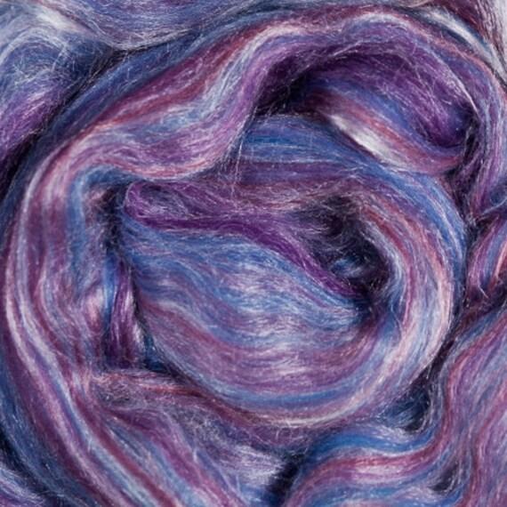 Ashland Bay Merino / Tussah Silk 70/30 - 4 ounces (oz) - PURPLE