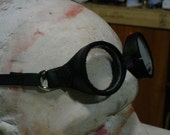 Black Trimmed Goggles