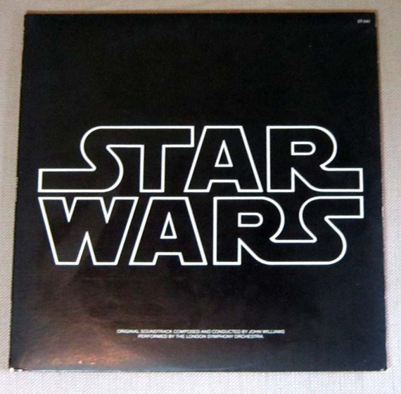 Star Wars Double Album with Poster
