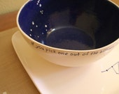 Constellation Bowl / Made to Order / Ceramic Tableware / Contemporary Functional Ceramics for Your Home