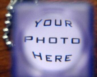 CUSTOM PHOTO & WORDS. Nostalgic Novelty Photo Viewfinder.