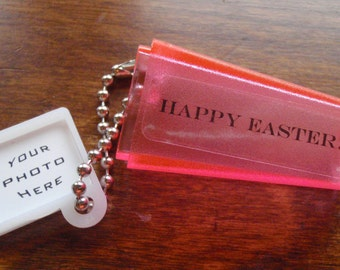 Custom EASTER GIFT. Your Image & Words. Novelty Photo Viewfinder.