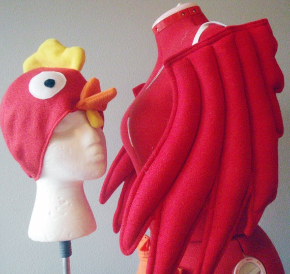(Chicken dinner comes in a close second on that list). We can't help you with chicken dinner, since we're terrible cooks, but we can get you ready to be a giant bird at your next party. We've got a whole brood of chicken costumes, some wacky, some cute and some just downright outrageous.