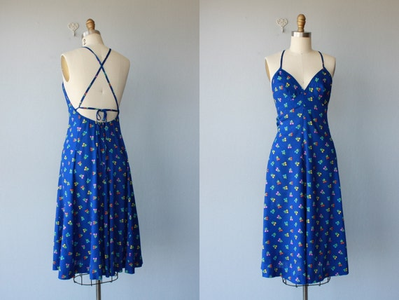 RESERVED / 1970s dress / 70s dress / Lanz Originals dress- size xs , small