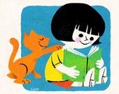 Give A Hoot, Read A Book - Print