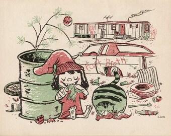 A Very Eddy Christmas - Limited Edition Print