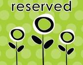 Reserve Listing for Janice -  Personalized Baby Girl Quilt - Desert theme/Cactus/Desert Sky/Big Sun/Bunny/Roadrunner/animals