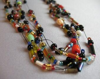 Birdseed necklace