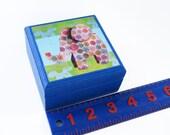 Baby Elephant design Keepsake Box - Jungle Theme Novelty Box - Pick your own Color - Trinkets Box