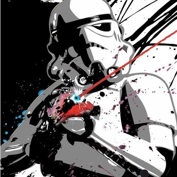 Star Wars STORMTROOPER Pop Art style fan art by ...