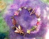 Bracelet Copper Bee Charm