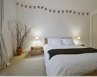 British Bunting Wall Stickers