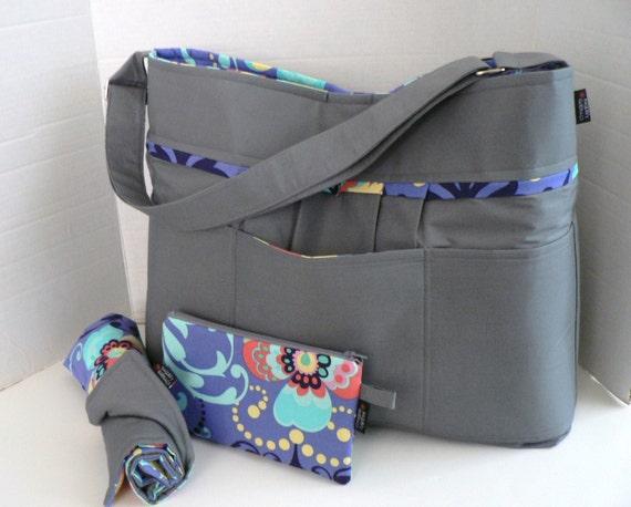 items similar to monterey bag xl ultimate diaper bag set custom design your own on etsy. Black Bedroom Furniture Sets. Home Design Ideas