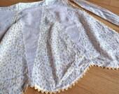 delicate handmade sweet vintage apron