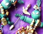 PROTECTION, Incantation Dolls, Protection Dolls, Wooden Dolls by mystic2awesome