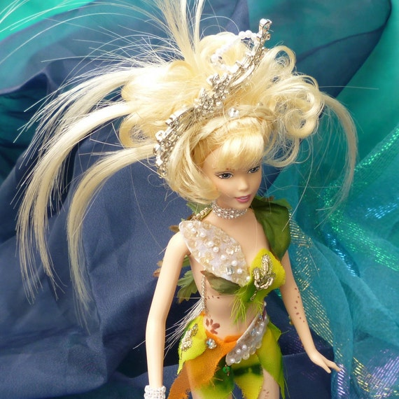Fairy Doll, Fae Folk Indoor Garden Nymph Doll by mystic2awesome