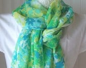 Spring Meadow.....Sheer Scarf
