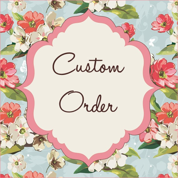 Reserved Order for NannyBee11