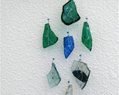 Trail Treasure Mojave Desert Glass-Rare finds, Multi-colored repurposed glass, Sun catcher, Mobile, Ornament