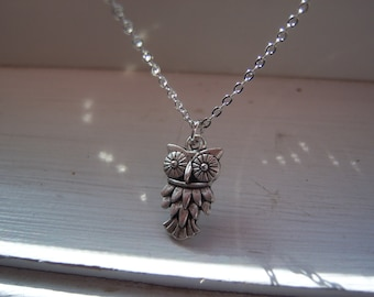 Owl Necklace - Woodland Necklace