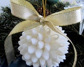 Seashell Decor White Shell Kissing Ball