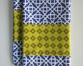 COUPON CODE 75off 2 Purple Geometric Print Hand Towels
