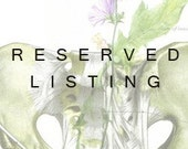 RESERVED LISTING for Katie M