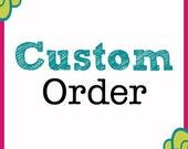 Custom Order Evette -  Flower Bracelet