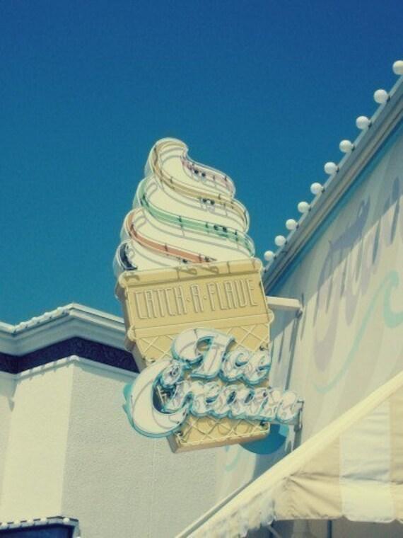 Ice Cream Postcards/Notecards Set of 5