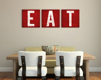 MADE to ORDER -  Custom  KITCHEN Decor Canvas Wall Art 1.5 inch thick Ready to Hang