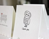 Owl and Birds Sweet Greetings 3 Card Set