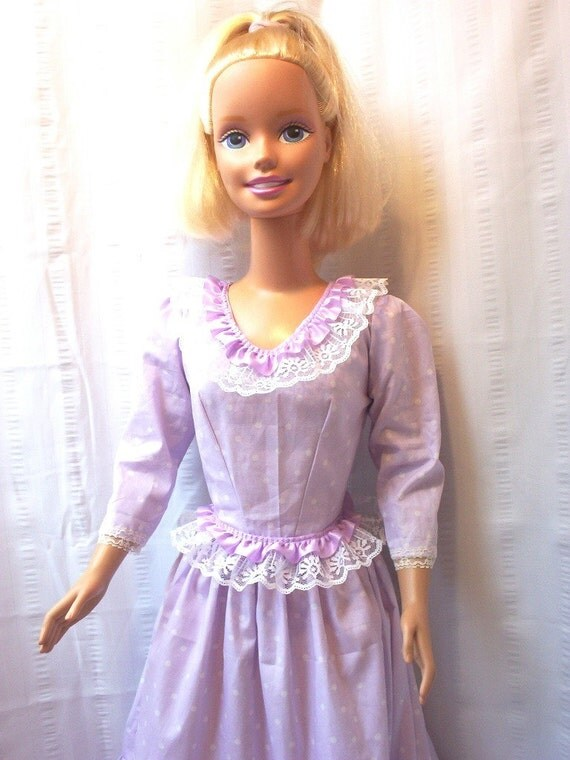 For My Size Barbie Dress Lavender