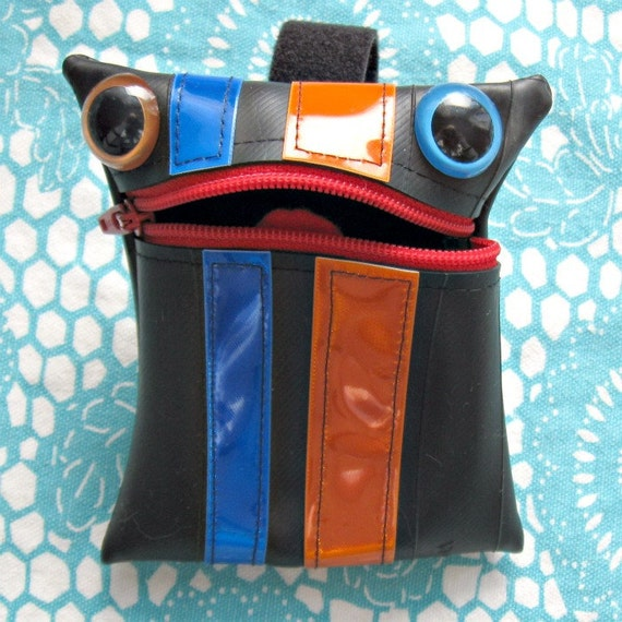 Rudy the Recycled Tire Monster Coin Purse